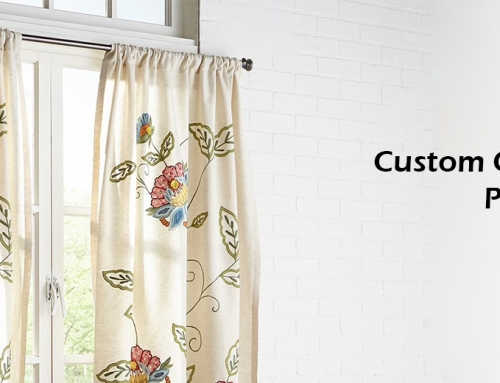 Nature and Floral Printed Curtain