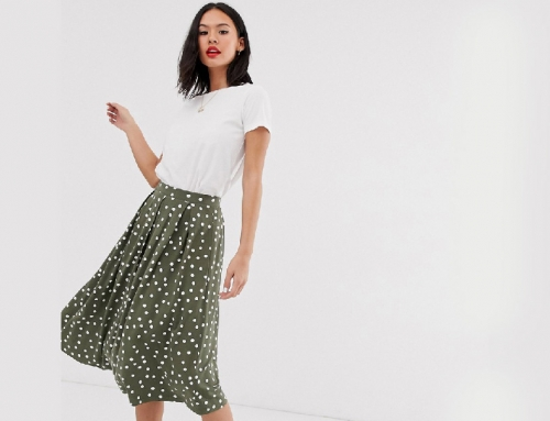 American Style Print Skirt