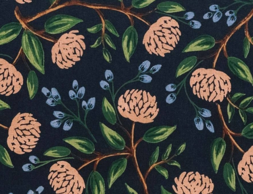 Cotton Screen Printed Fabric