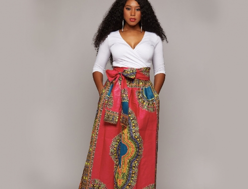 Dashiki African Print Skirt