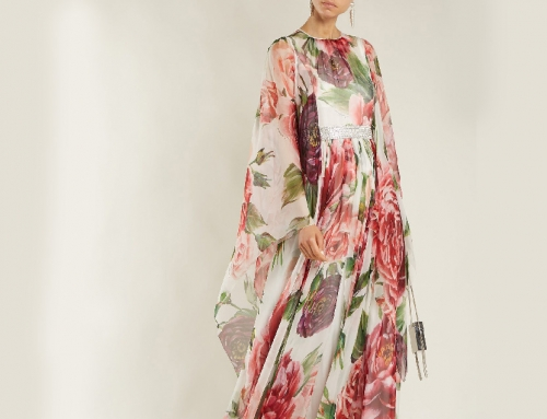 Digital Printed Silk Dress