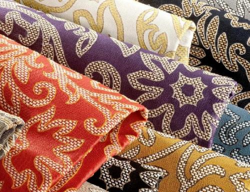 Jecard fabric