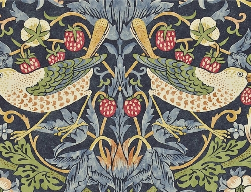 Traditional Printed Fabric